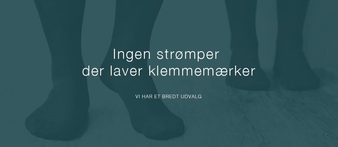 bedste pris nyeste design ser godt ud UDEN SØM OG ELASTIK - Strømpekompagniet.dk