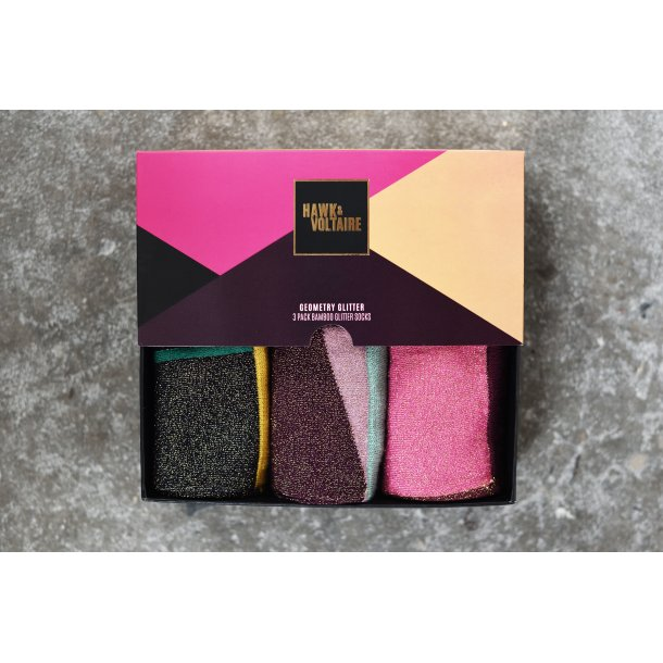 HAWK & VOLTAIRE - GEOMETRY GLITTER
